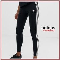 adidas Casual Style Cotton Long Skinny Pants