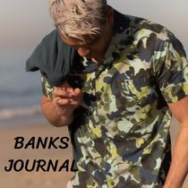 BANKS Camouflage Street Style Short Sleeves Shirts