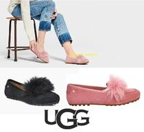 UGG Australia Blended Fabrics Street Style Plain Slip-On Shoes