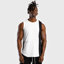 SQUAT WOLF Nylon Street Style Tanks