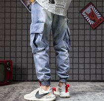Denim Street Style Joggers Jeans & Denim