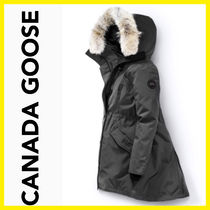 CANADA GOOSE Casual Style Plain Trench Coats