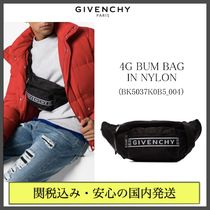 GIVENCHY Nylon Street Style Plain Hip Packs