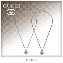 GUCCI Unisex Street Style Metal Necklaces & Chokers