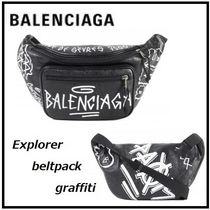 BALENCIAGA Unisex 2WAY Leather Bags