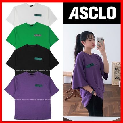 ASCLO More T-Shirts Street Style Short Sleeves T-Shirts