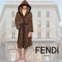 FENDI Unisex Bi-color Cotton Underwear & Roomwear