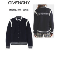 GIVENCHY Wool Plain Medium Varsity Jackets