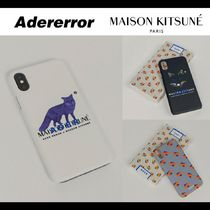 ADERERROR Unisex Street Style Collaboration Smart Phone Cases