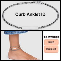 Tom Wood Unisex Handmade Silver Anklets