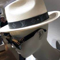 Louis Vuitton MONOGRAM Blended Fabrics Street Style Wide-brimmed Hats