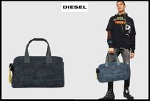 DIESEL Denim Street Style Plain Boston Bags