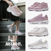 Nike AIR MAX 95 Platform Round Toe Casual Style Street Style Plain
