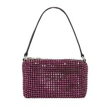 Alexander Wang Leather Party Style With Jewels Shoulder Bags