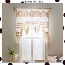 Urban Outfitters Blended Fabrics Street Style Collaboration Plain Curtains