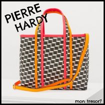 Pierre Hardy A4 Leather Totes