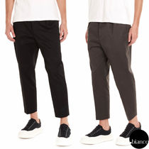 Jil Sander Plain Cropped Pants