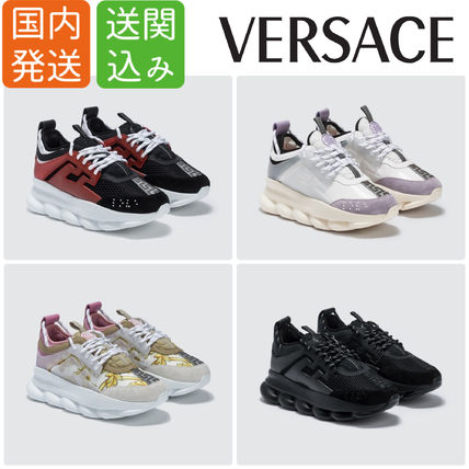 Rubber Sole Lace-up Casual Style Street Style