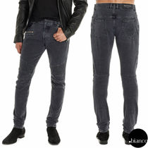 BALMAIN Denim Plain Jeans & Denim
