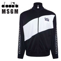 MSGM Street Style Collaboration Track Jackets