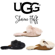 UGG Australia LANE Casual Style Sheepskin Slip-On Shoes