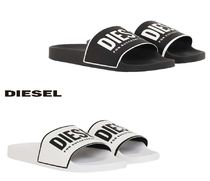 DIESEL Unisex Street Style Shower Shoes Shower Sandals