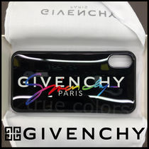 GIVENCHY Street Style Plain Smart Phone Cases