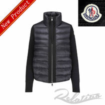 MONCLER Short Casual Style Wool Long Sleeves Plain