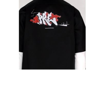 Off-White Shirts Button-down Street Style Plain Short Sleeves Shirts 5