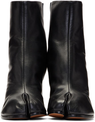 Maison Martin Margiela Ankle & Booties Casual Style Street Style Plain Leather 3