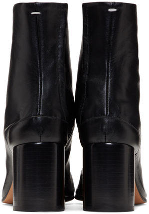 Maison Martin Margiela Ankle & Booties Casual Style Street Style Plain Leather 5