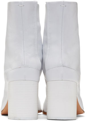 Maison Martin Margiela Ankle & Booties Casual Style Street Style Plain Leather 9