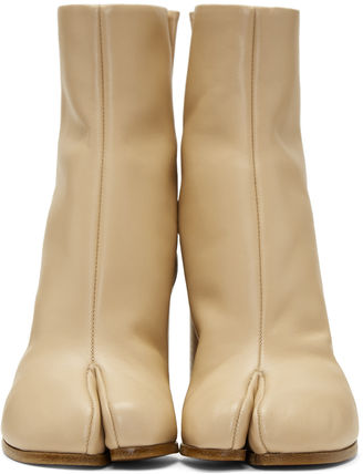 Maison Martin Margiela Ankle & Booties Casual Style Street Style Plain Leather 11