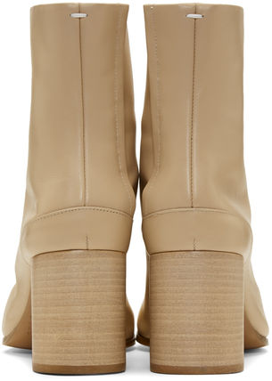 Maison Martin Margiela Ankle & Booties Casual Style Street Style Plain Leather 13