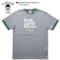 CAYLER&SONS Crew Neck Unisex Street Style Other Animal Patterns Cotton