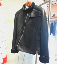 HERMES Leather Biker Jackets