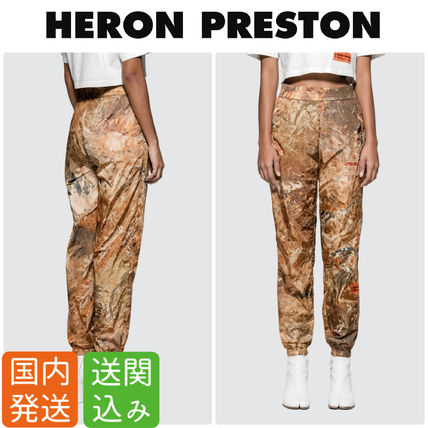 Camouflage Casual Style Nylon Street Style Pants