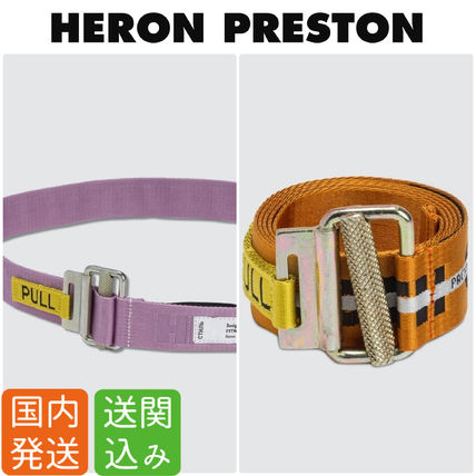 Casual Style Street Style Belts