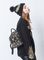 BOY LONDON Unisex Nylon Street Style Other Animal Patterns Backpacks