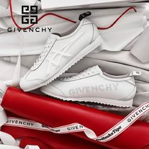 GIVENCHY Casual Style Plain Leather Low-Top Sneakers