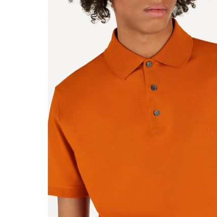 Louis Vuitton Polos Blended Fabrics Street Style Polos 3