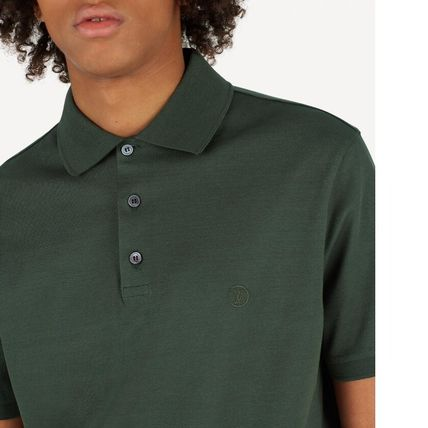 Louis Vuitton Polos Blended Fabrics Street Style Polos 8