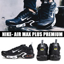 Nike AIR MAX Blended Fabrics Street Style Plain PVC Clothing Sneakers