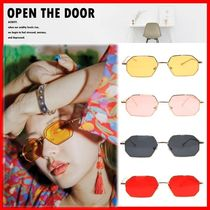 OPEN THE DOOR Street Style Sunglasses