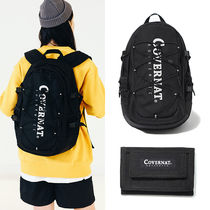COVERNAT Casual Style Unisex Street Style A4 Plain Backpacks