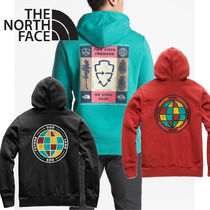 THE NORTH FACE Pullovers Long Sleeves Plain Hoodies
