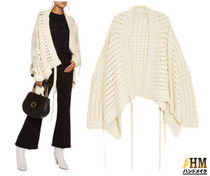 Chloe Short Wool Long Sleeves Plain Elegant Style Boleros & Shawls