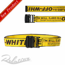 Off-White Casual Style Street Style Belts