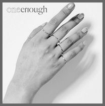 ONE ENOUGH Casual Style Unisex Rings