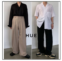 Slax Pants Plain Slacks Pants
